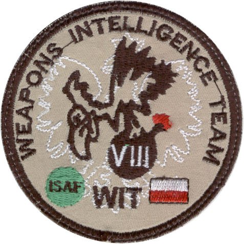 weapons intelligence team